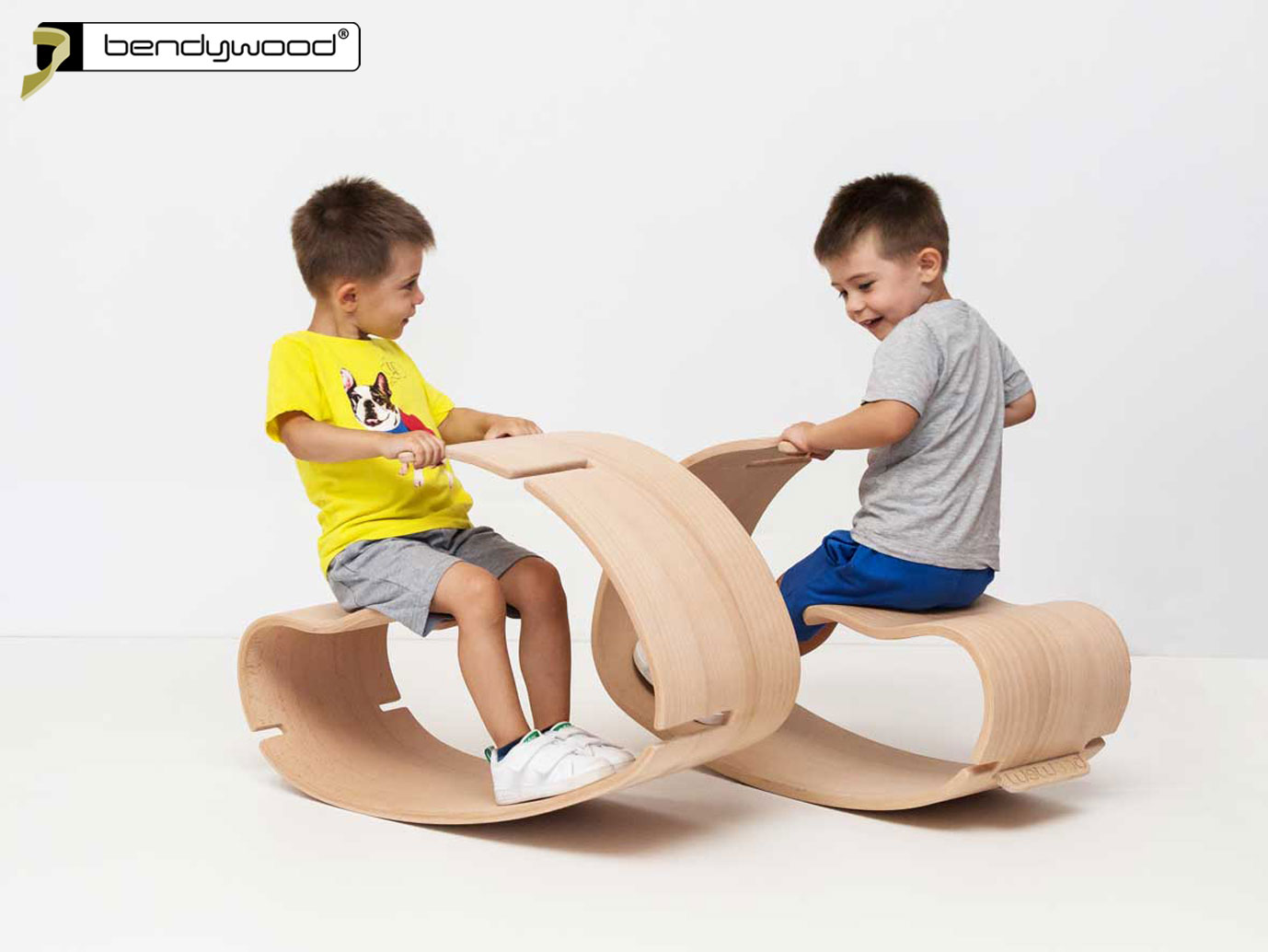 Seesaw rocker for children in Bendywood®
