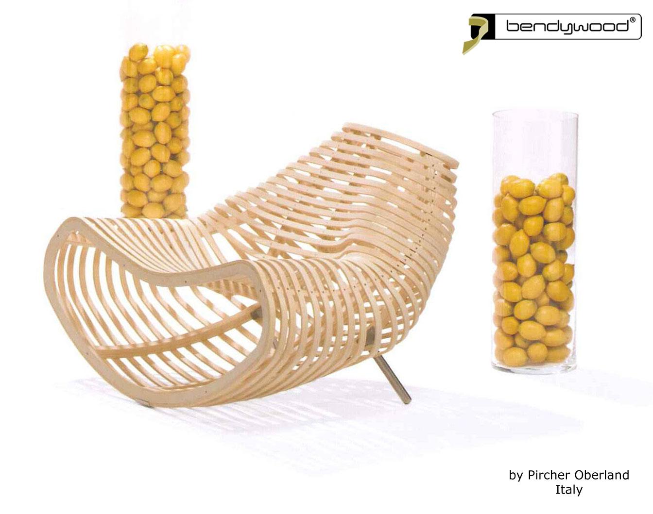 Bending wood Bendywood® - seating furniture