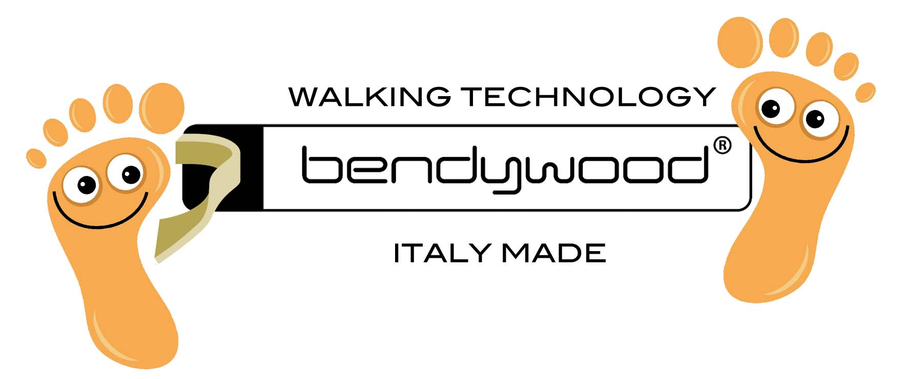 Logo bendywood insole Big